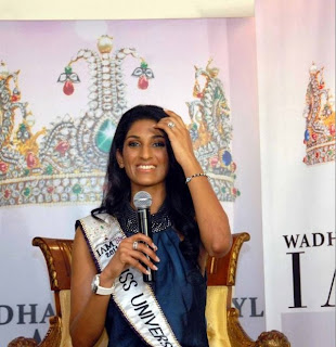 Miss Universe India 2011 Vasuki Sunkavalli @ Hyd (Gallery)   powered by www.HeyANDHRA.in